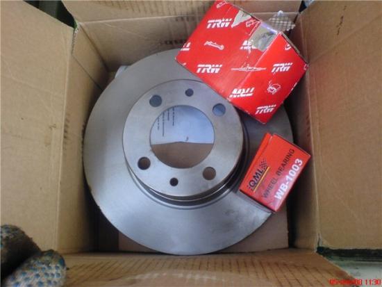 тормозные диски ваз