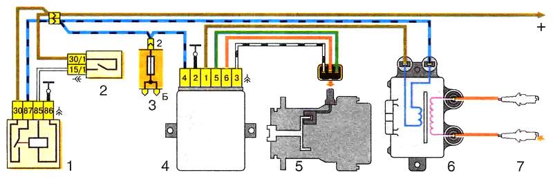 Схема подключения бесконтактной системы зажигания фото 931