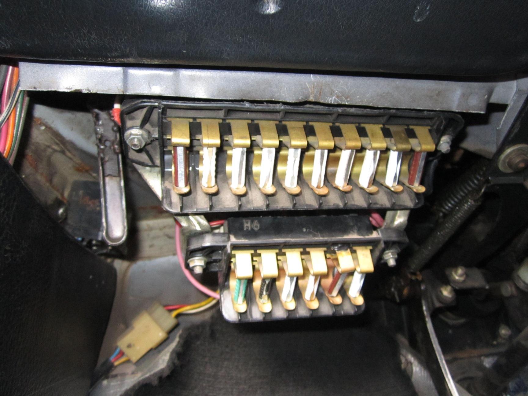 схема зарядки на ваз2110 с евро панелью
