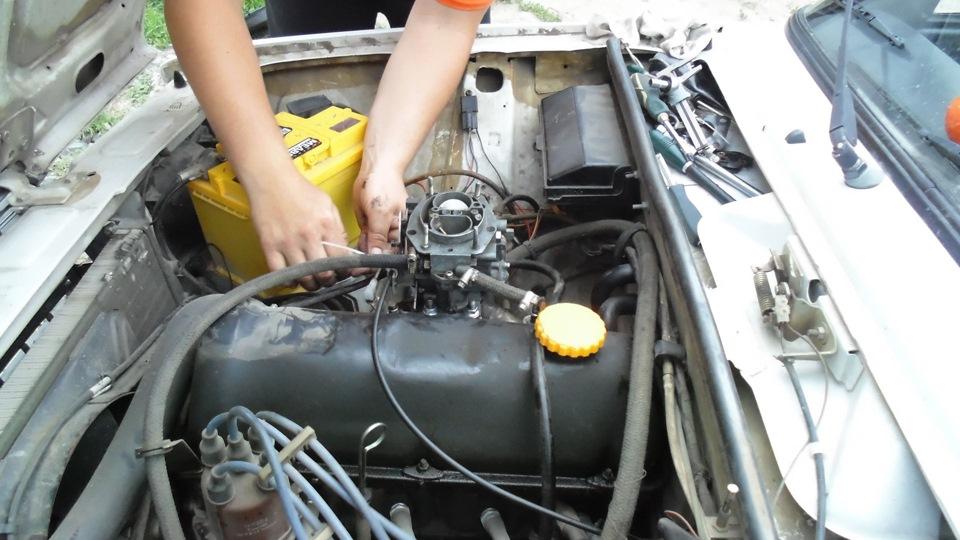 Карбюратор солекс на двигателе