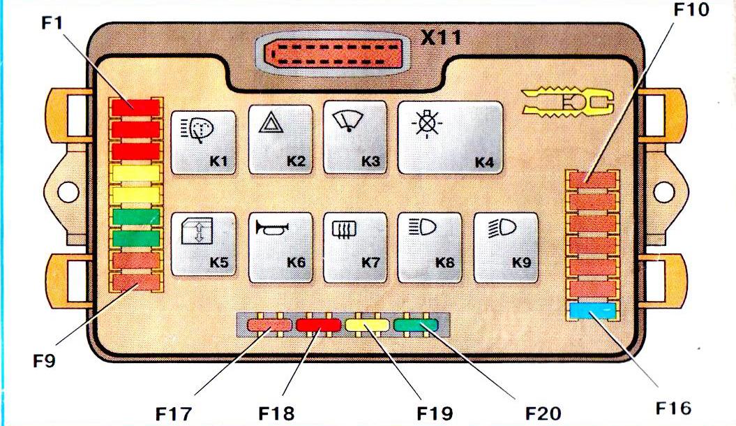 задних ПТФ ВАЗ-2109 и 2108