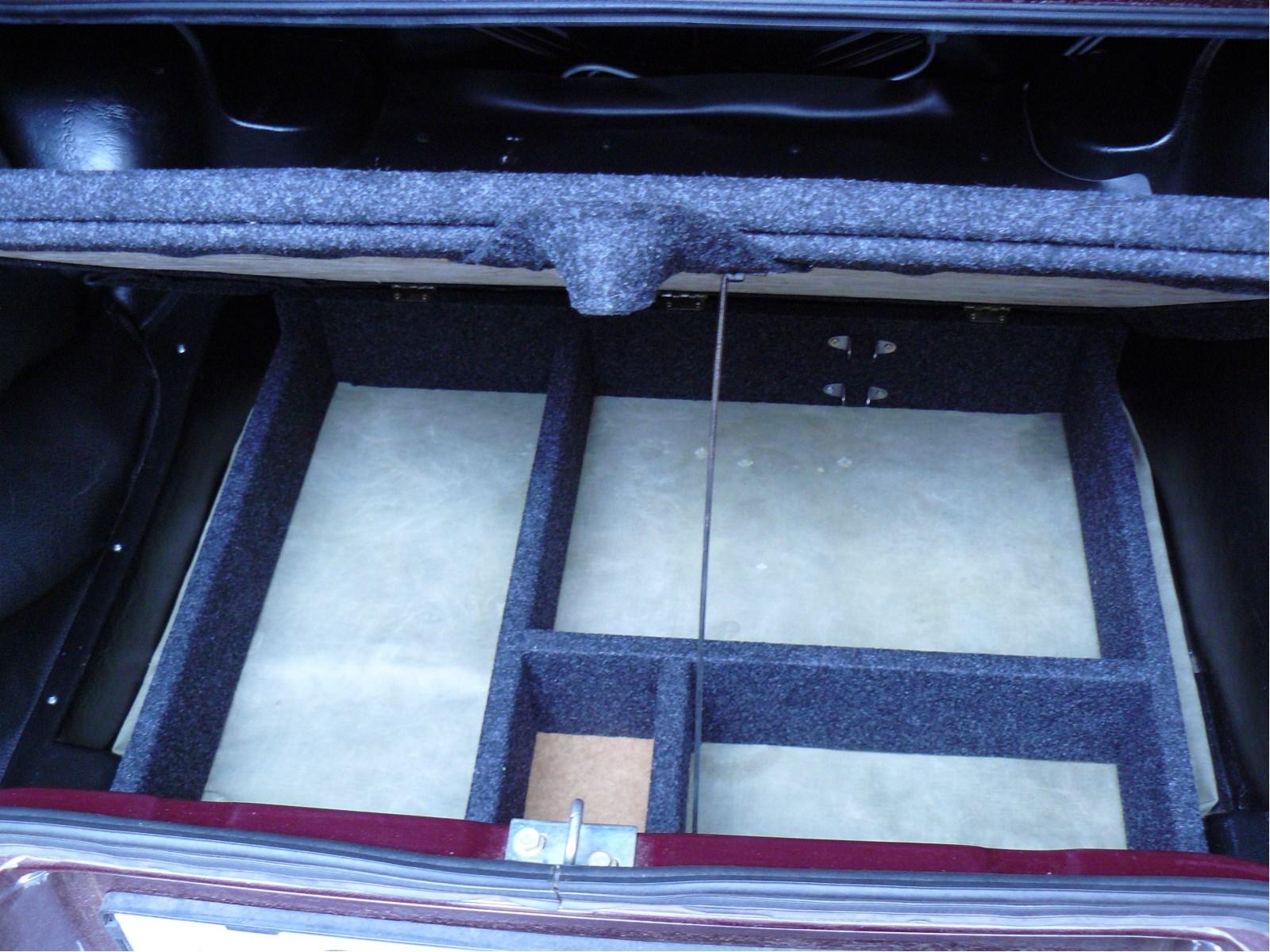 Фальшпол в багажник ваз 2114 своими руками 98