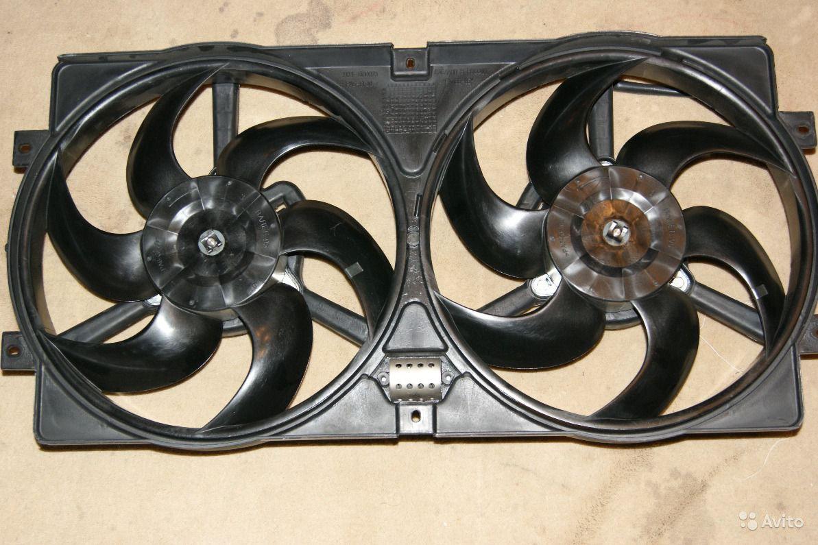 схема включение вентилятора 2110