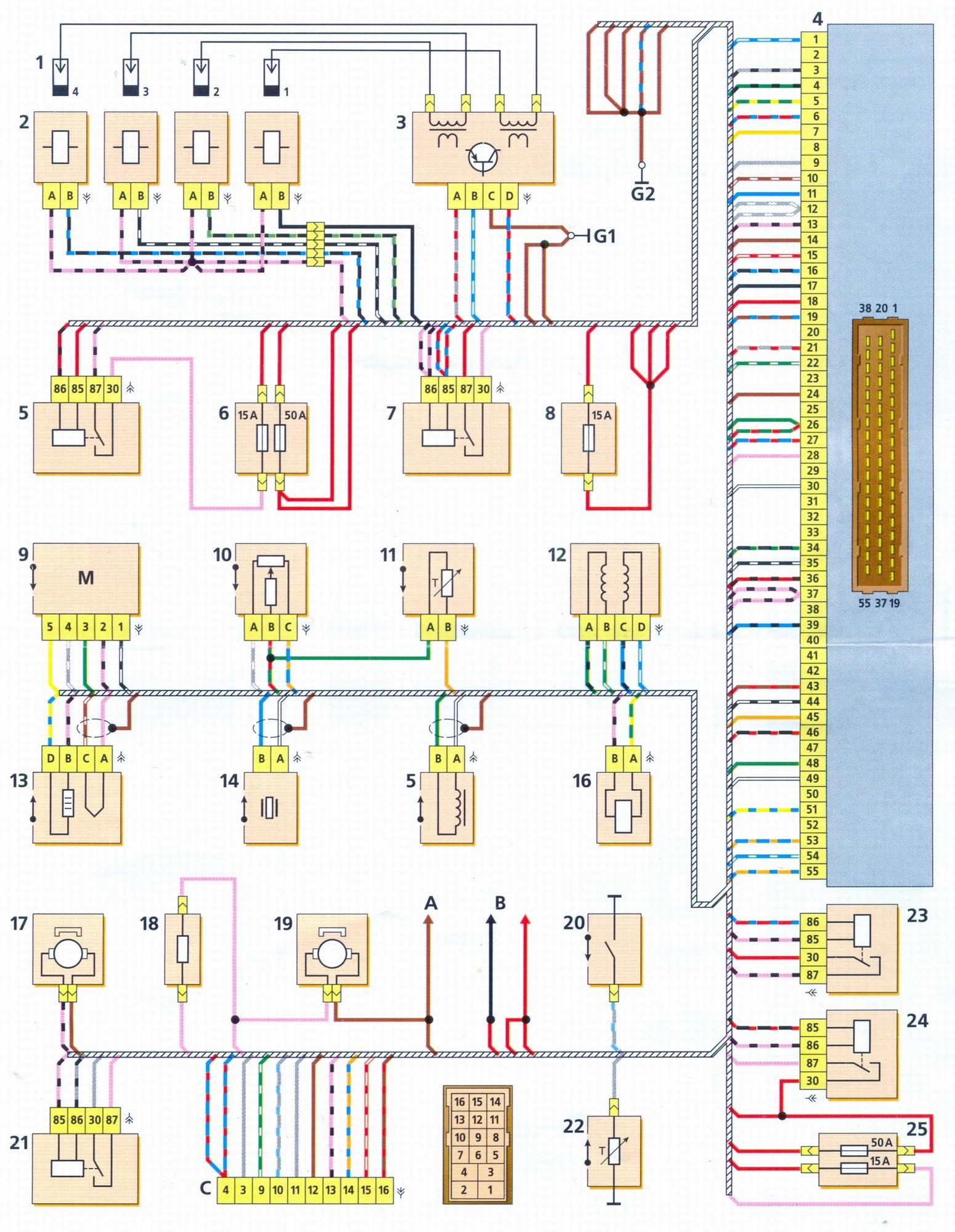схема блока управлени для эпхх с бсз