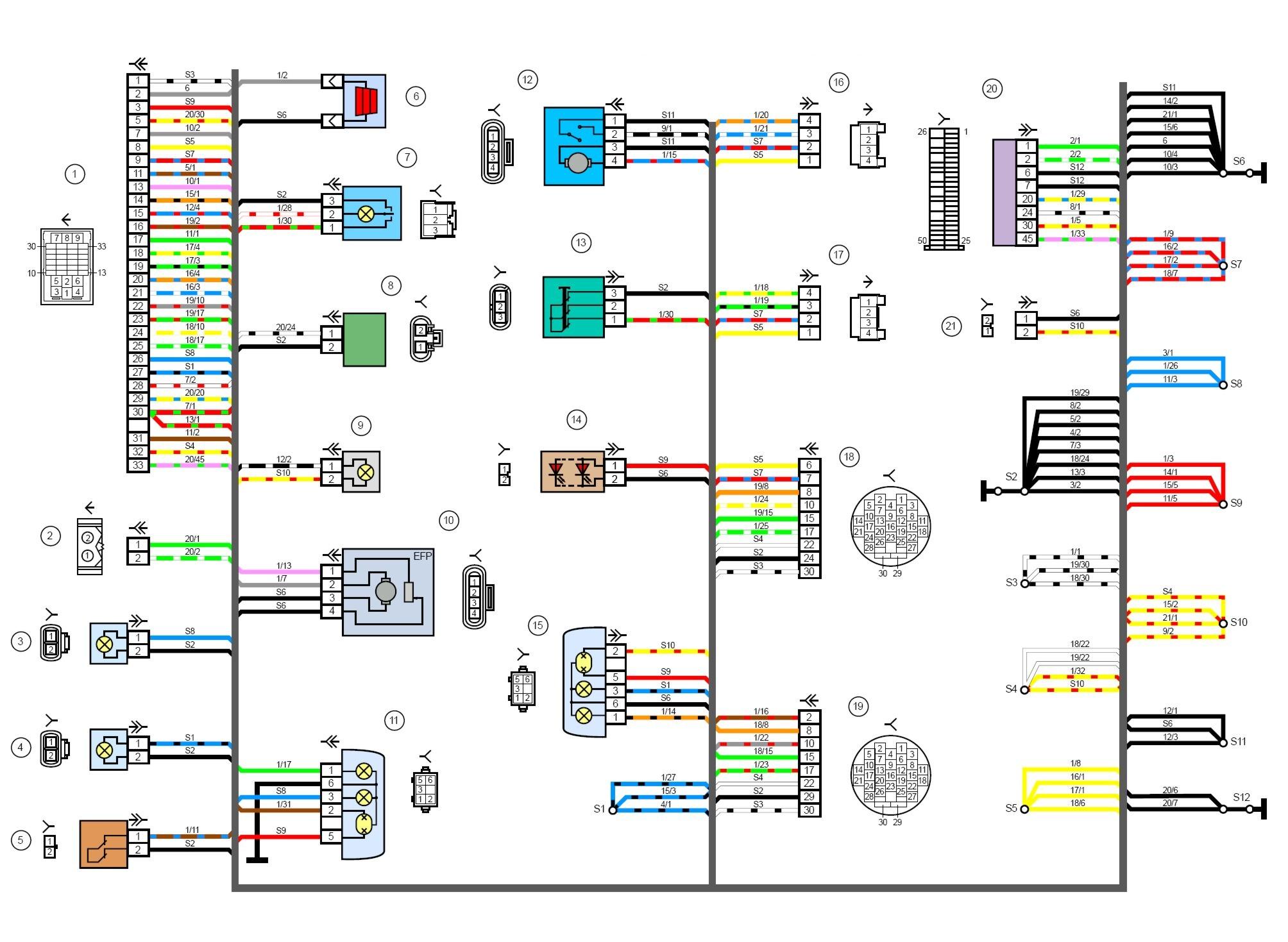 Электрическая схема лямбда зонда фото 353