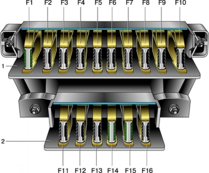 Блок предохранителей ВАЗ-2106