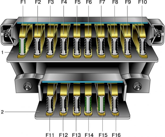 Электросхема ваз 2121 нива старого образца
