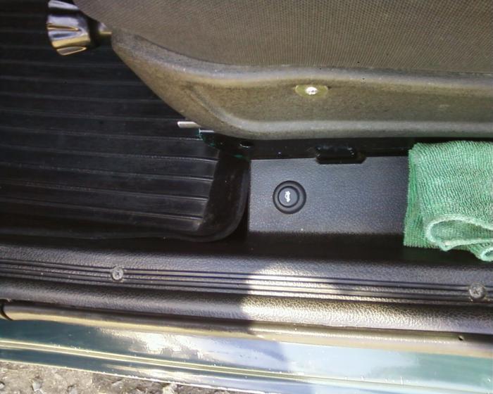 Открывание багажника с кнопки ваз 2107
