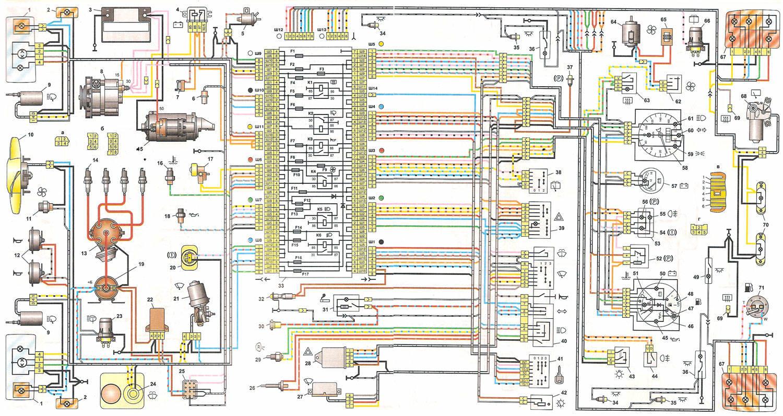 Схема жигули 4 модели
